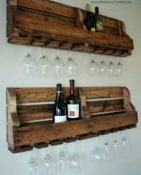 How to Make Rustic Homemade Wine Rack - DIY & Crafts ...