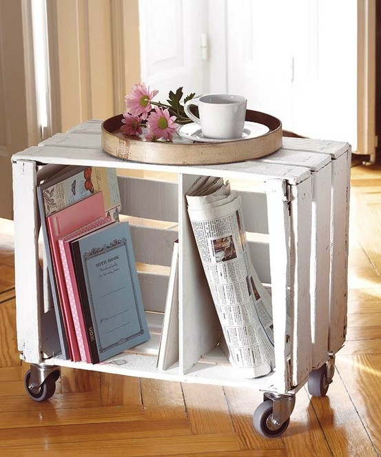 How to Make 14 Wooden Crates Furniture Design Ideas  Craftspiration  Handimania