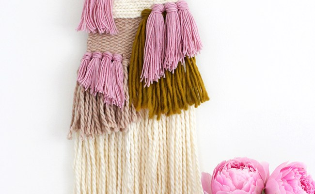 How To Make Woven Wall Hanging Diy Crafts Handimania
