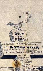 The Death Cartoon Of Aston Villa