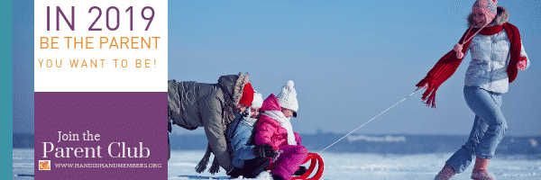 Mom pulling sledge with children