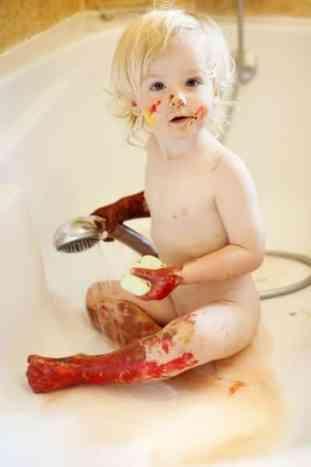 Paint shower