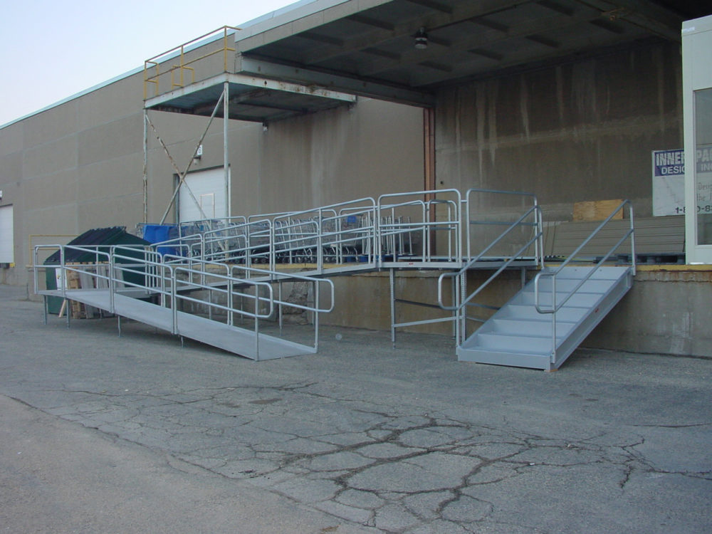 Aluminum Portable Handicapped Wheelchair Ramps For Disabled