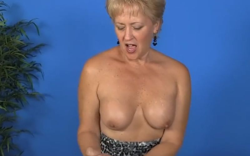 Amateur Mature Fake Tits