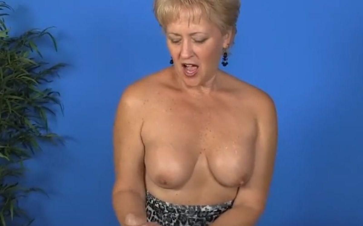 Big Tits Handjob Huge Cumshot