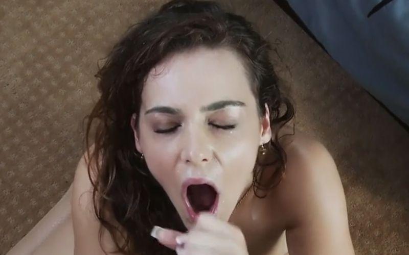 Handjob cumshot compilation, beautiful women and facials