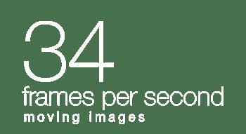 34 Frames Per Second Logo