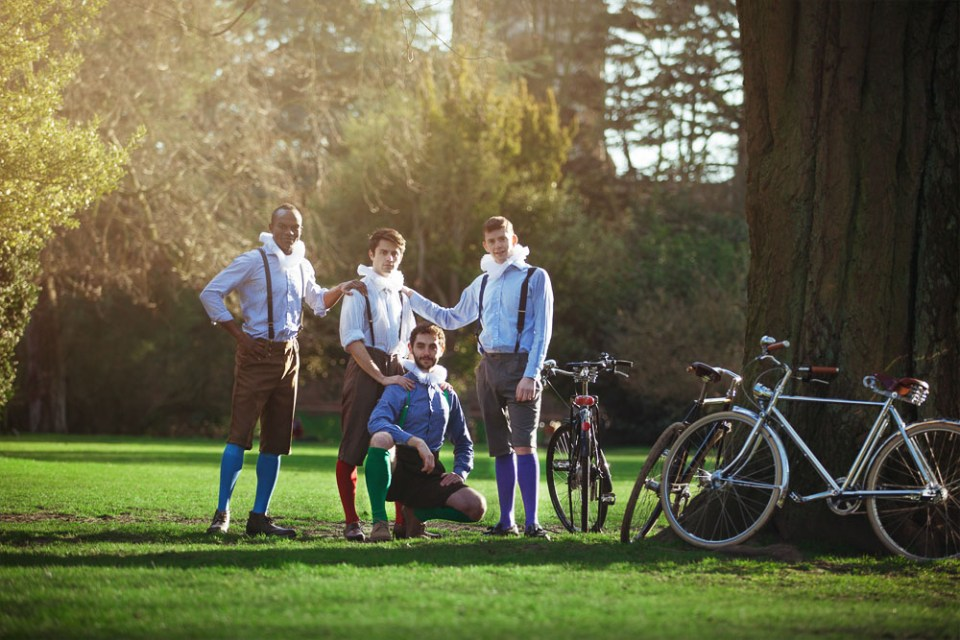 The HandleBards By A Tree