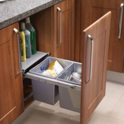 Kitchen Cabinets Clearance Free Standing Islands Pull-out Waste Bin Base Mounted 30 Litre Capacity For ...
