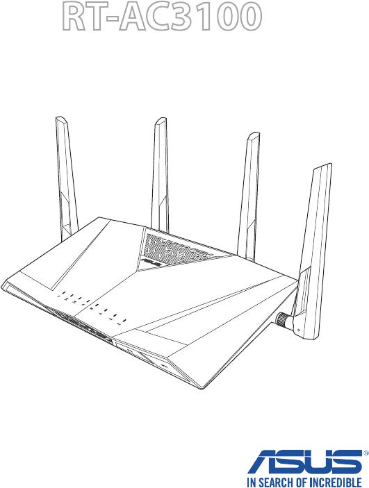 Asus RT-AC3100 handleiding (135 pagina's)