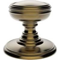 Delamain Plain DK35CFB - florentine bronze unsprung door knobs