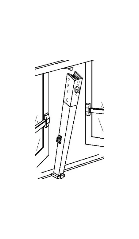 Aluminum Removable Mullion Door Pictures to Pin on