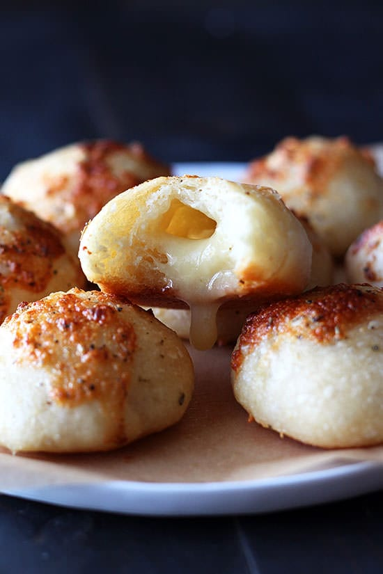 Cheese Stuffed Garlic Rolls - I can't even deal with how good these are.
