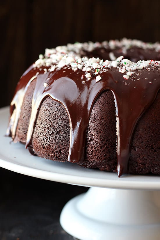 kitchen floor covering pre made cabinets peppermint mocha bundt cake - handle the heat