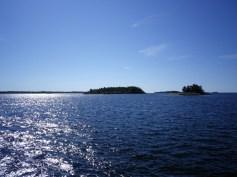 Kleine Inseln überall