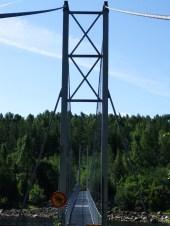 Hängebrücke - Umeälven