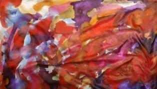 Seidentuch Herbstfarben