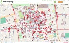 Kartenausschnitt von Klagenfurt auf wheelmap.org - Bild 2