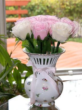 Handmade Stocking Nylon Flowers For Weddings
