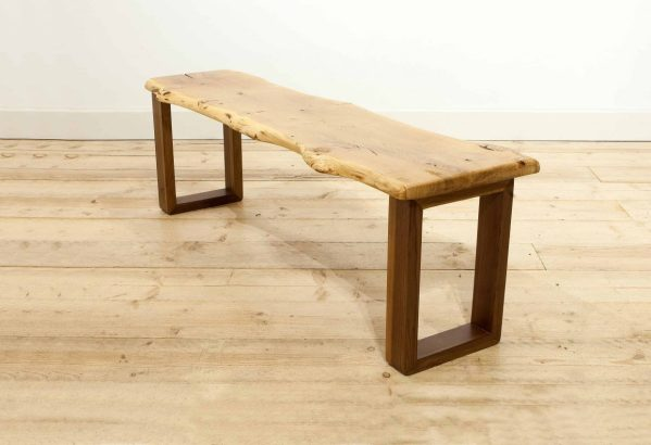 Live Edge Benches With Backs - Year of Clean Water