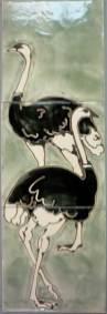 Ostrich tiles-'Noah's ark.