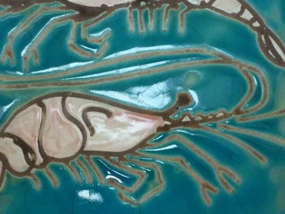 Shrimps tiles