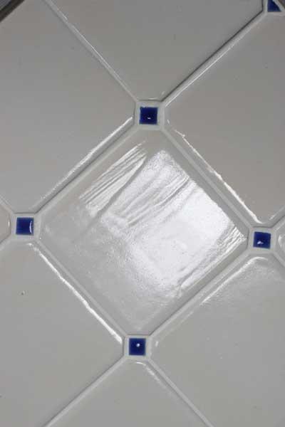 Rustic corners tiles