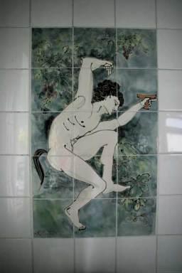 Satyr tile panel bathroom-tiles