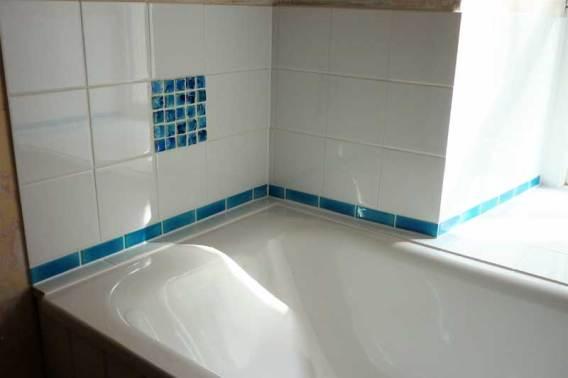 Tile mosaic bathroom tiles