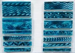 handmade tiles- borders