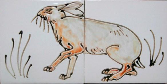 Hare tiles.