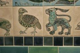 'William de Morgan ' style tiles2