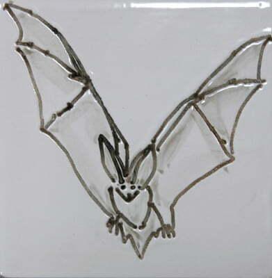 long eared bat tile