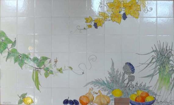 Fruit and vegetable tiles- Aga
