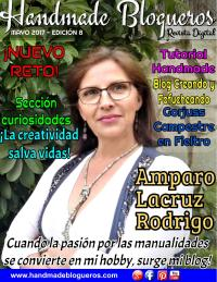 """Entrevista a la Blogger y Youtuber """"Amparo Lacruz"""" – «Revista No. 8»"""