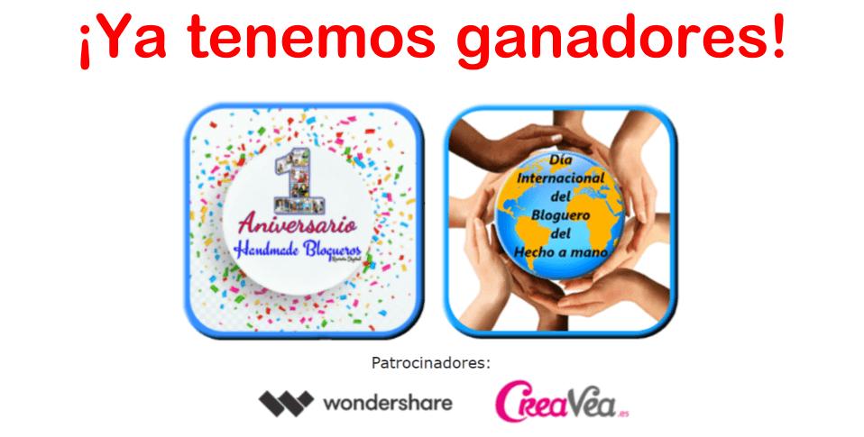Sorteo Evento Aniversario Handmade Blogueros 2017