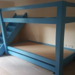 Bunk Bed With Staircase Solid Wood Beds Custom Made Beds Solid Wood Beds Built Onsite