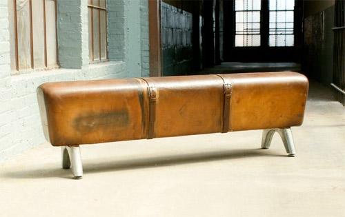 Vintage Pommel Horse Bench ⋆ Handmade Charlotte
