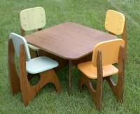 Etsy Finds: Modern Child Table Set | Handmade Charlotte