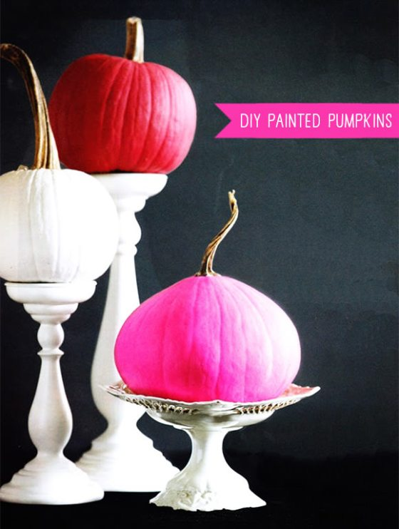 6 fresh ways to decorate a pumpkin- Handmade Charlotte