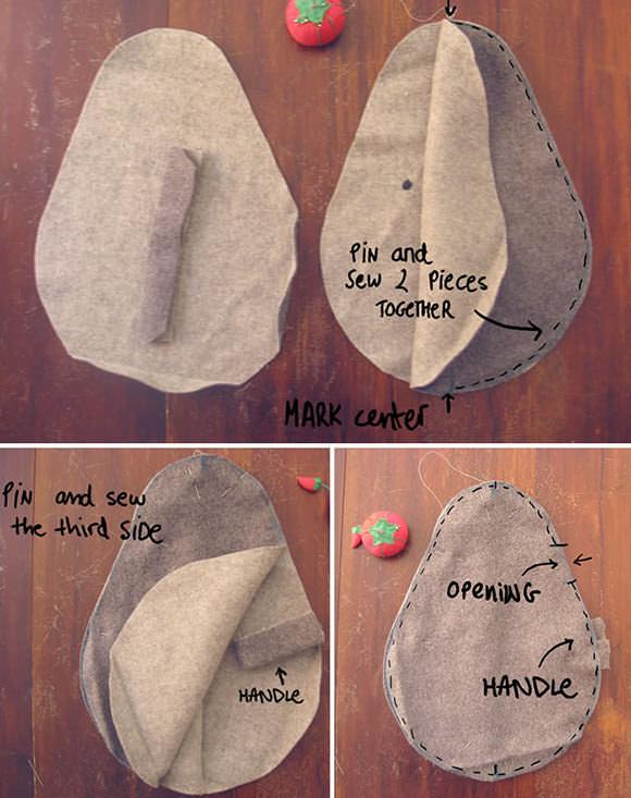 DIY Friendly Rock Doorstop