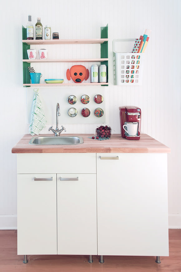 Build A DIY Mini Kitchen For Under 400  Handmade Charlotte