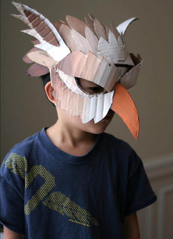 Jack Box Head Costume