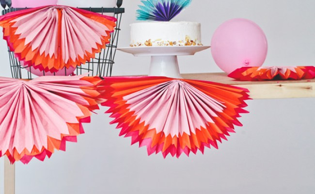 6 Easy Diy Paper Party Decorations Handmade Charlotte