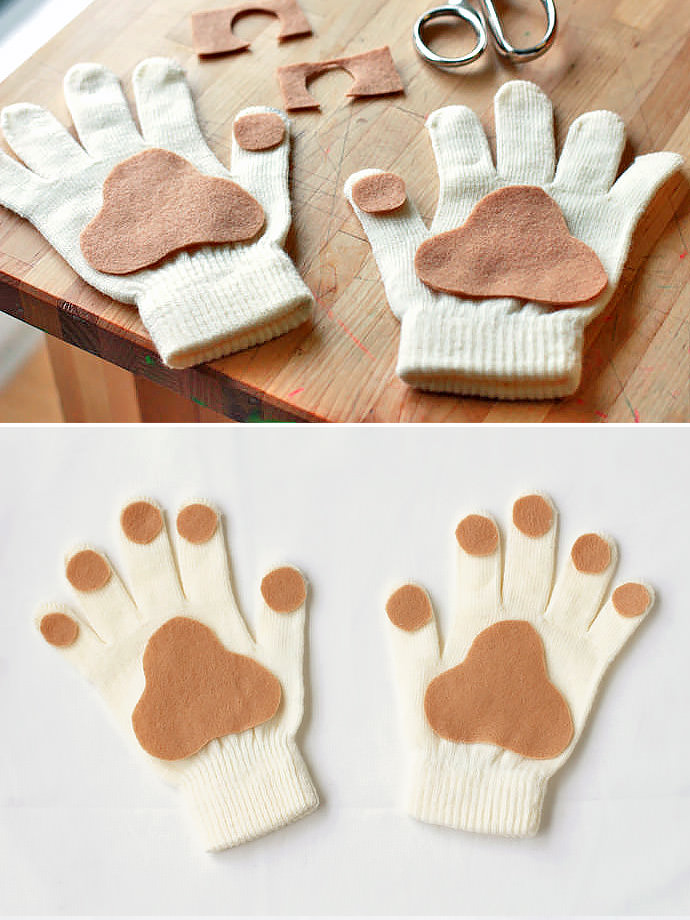 10 Totally Awesome DIY Glove Puppets Handmade Charlotte