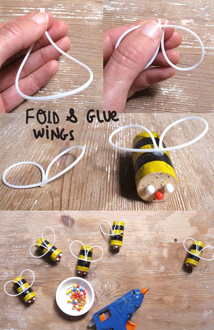 Diy Cork Bumblebee Mobile ⋆ Handmade Charlotte
