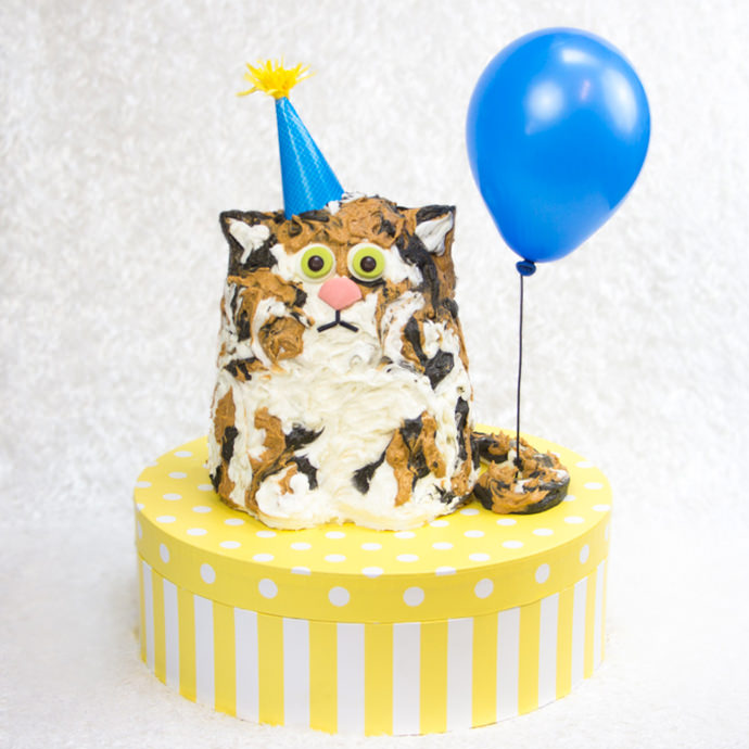 Birthday Cake My Cat