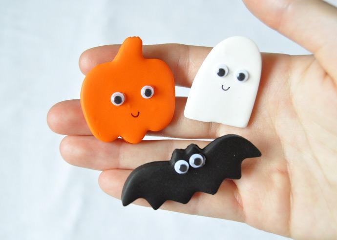 DIY Clay Halloween Pins  Handmade Charlotte