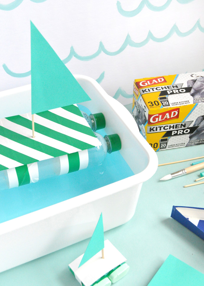 DIY Recycled Boats
