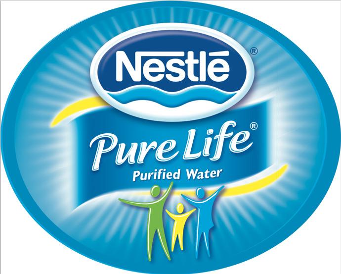 Nestle Pure Life Purified Water Logo